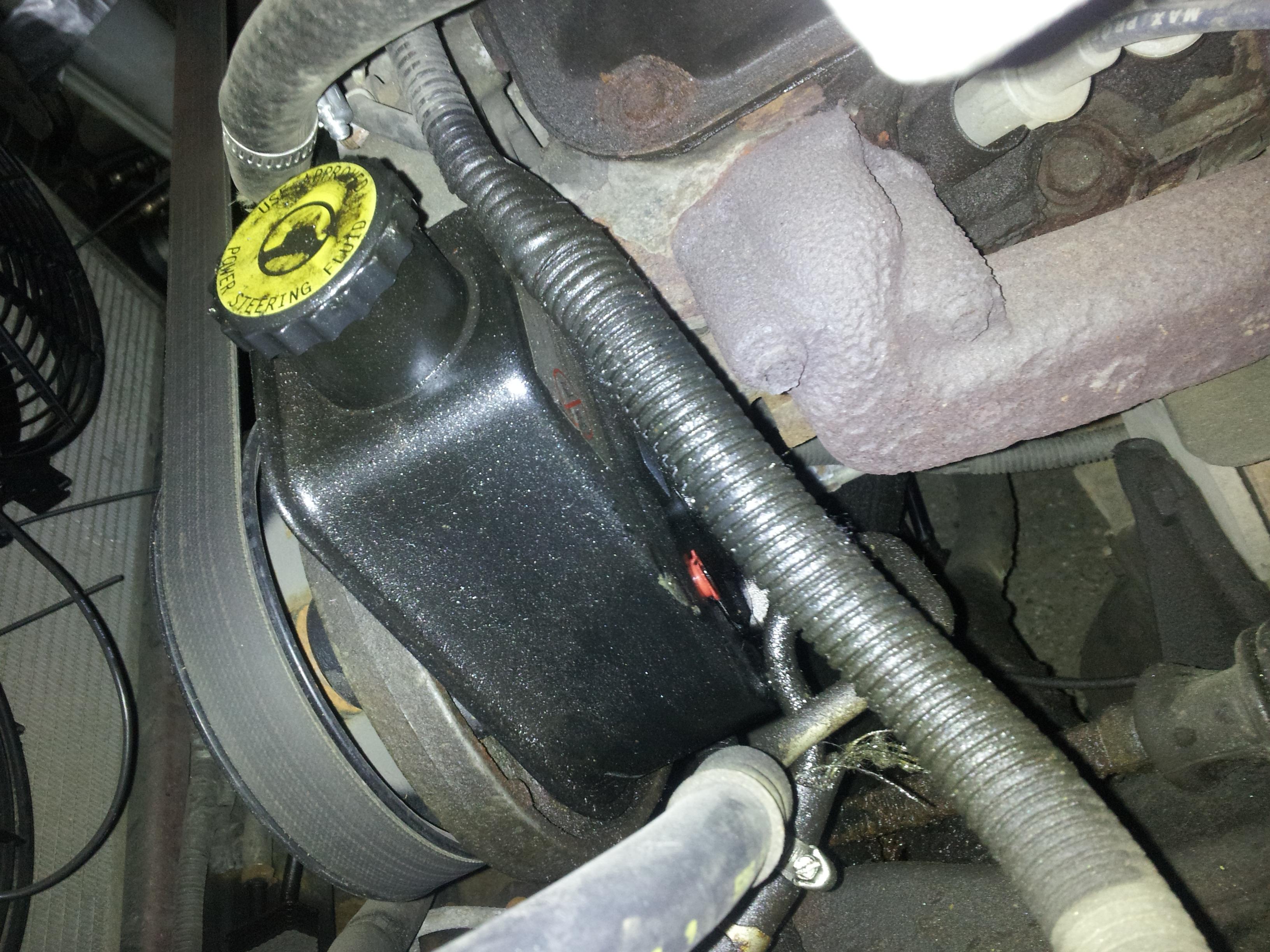 Powerst on Dodge Dakota Power Steering Leak